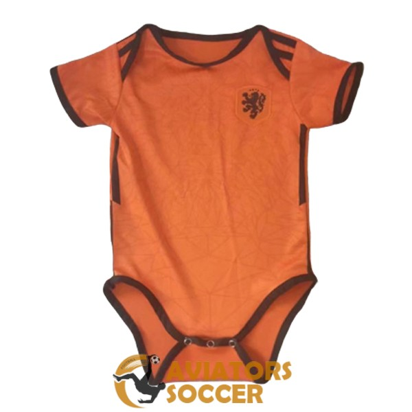 baby netherlands shirt jersey orange 2020