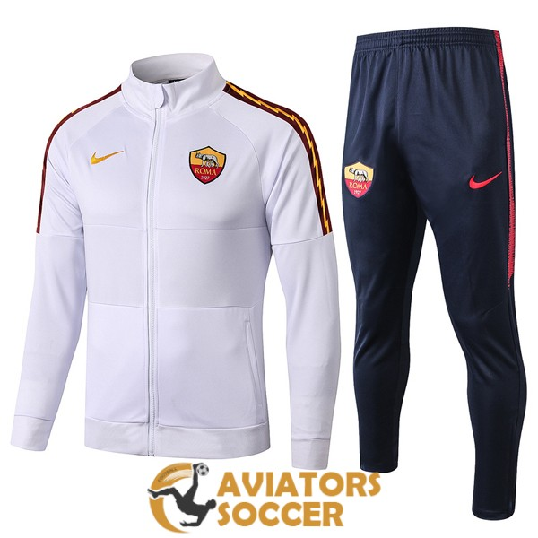 jacket as roma white 2019 2020
