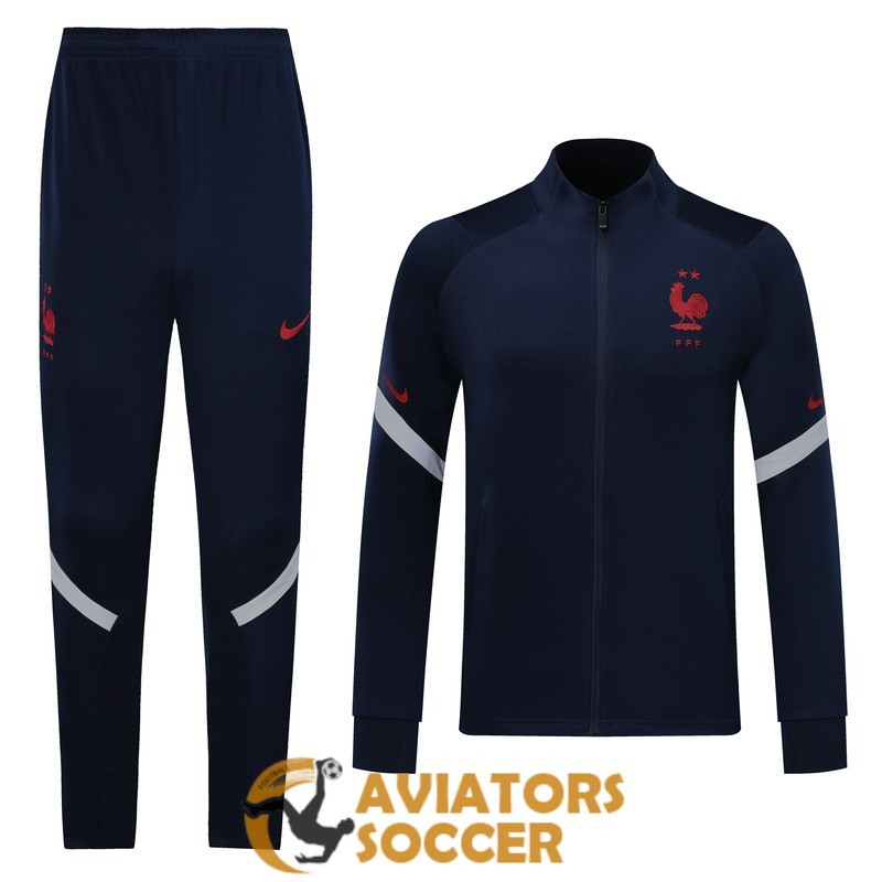 jacket france dark blue 2019 2020