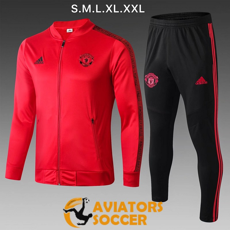 jacket manchester united red 2019 2020