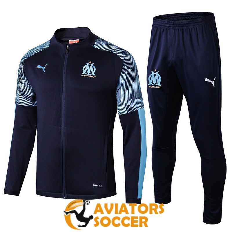 jacket marseille dark blue 2019 2020