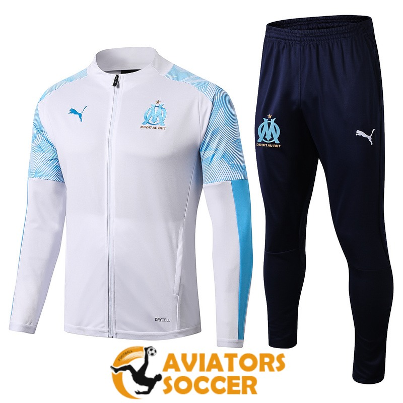 jacket marseille white 2019 2020