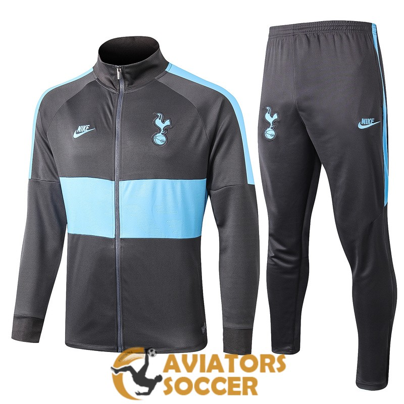 jacket tottenham hotspur blue dark gray 2019 2020