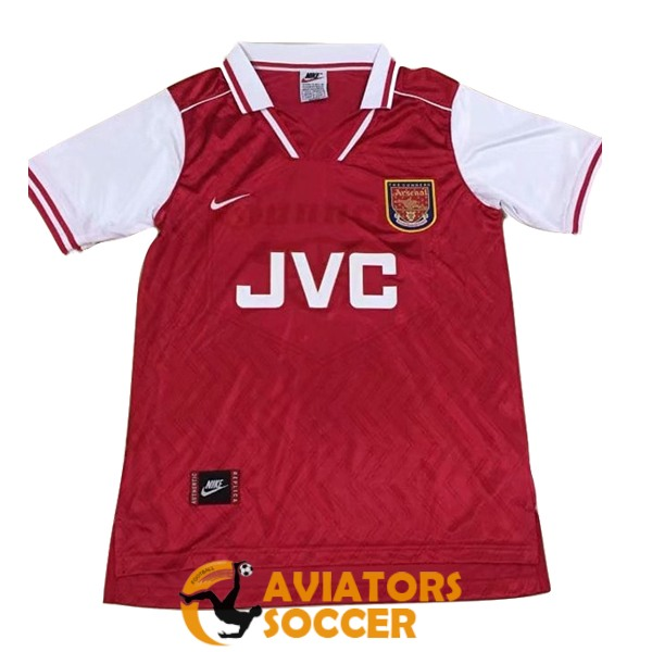 retro arsenal shirt jersey home 1997