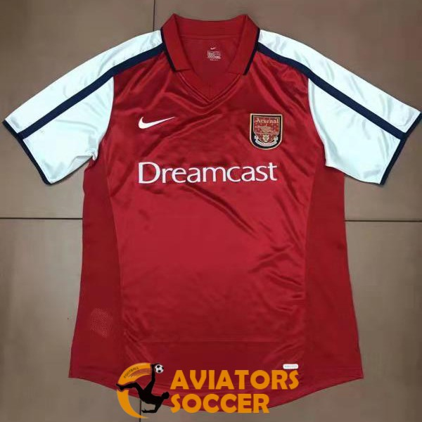 retro arsenal shirt jersey home 2000