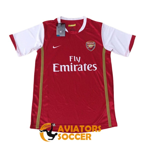 retro arsenal shirt jersey home 2006