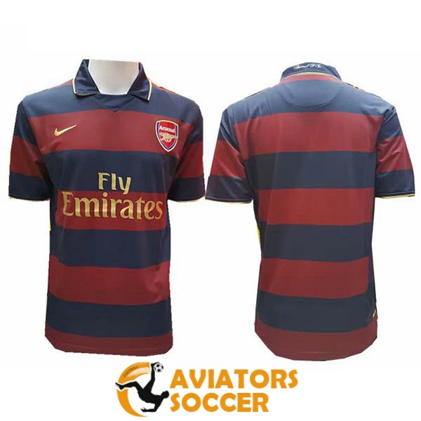 retro arsenal shirt jersey home 2007 2008