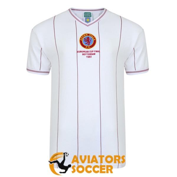 Sale retro aston villa football shirts 2020-2021 cheap