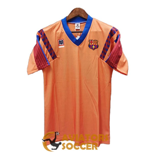 retro barcelona shirt jersey away 1991 1992