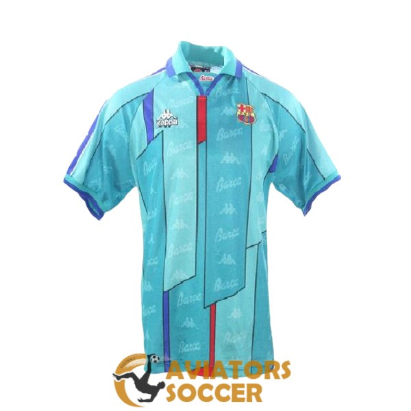 retro barcelona shirt jersey away 1996 1997