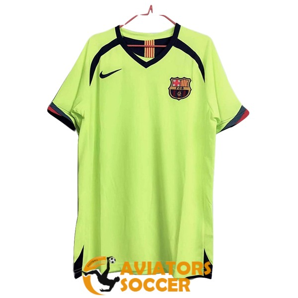 retro barcelona shirt jersey away 2005 2006