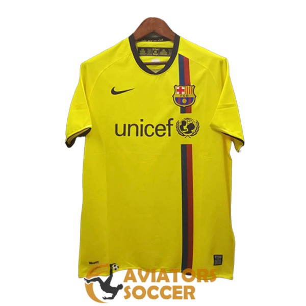 retro barcelona shirt jersey away 2008 2009