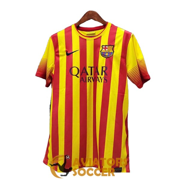 retro barcelona shirt jersey away 2013 2014