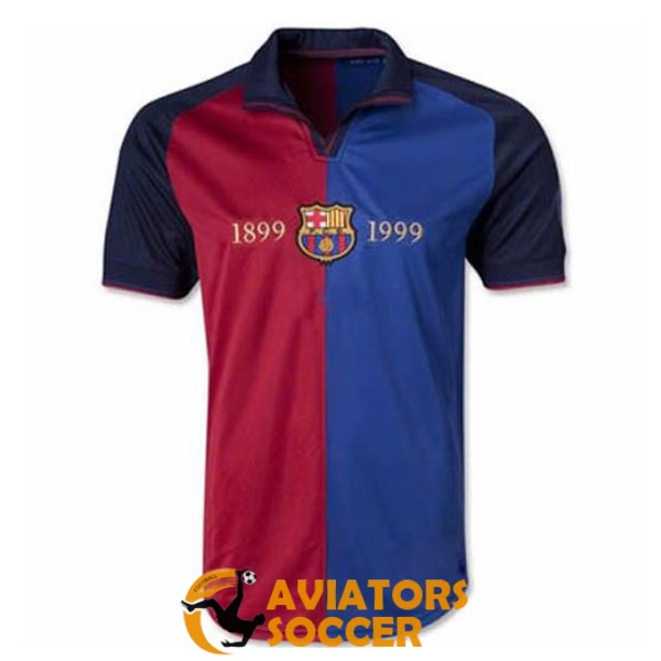 retro barcelona shirt jersey home 1899 1999