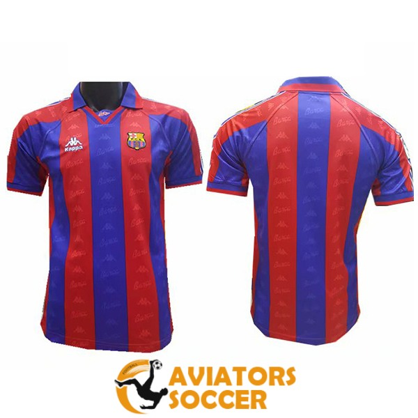 retro barcelona shirt jersey home 1997