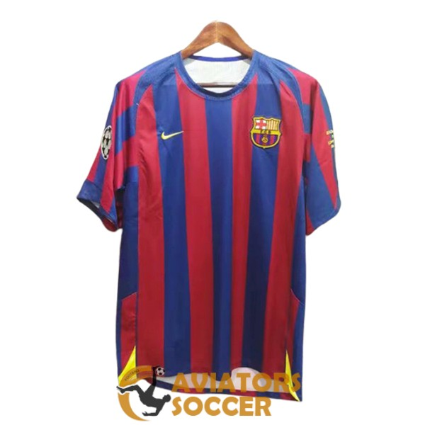 retro barcelona shirt jersey home 2005 2006