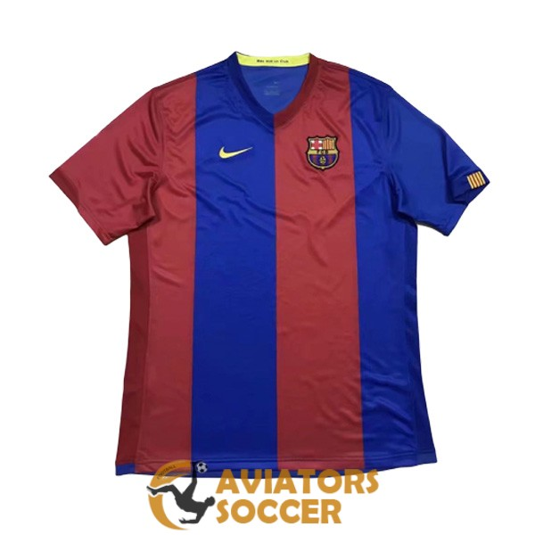 retro barcelona shirt jersey home 2006 2007