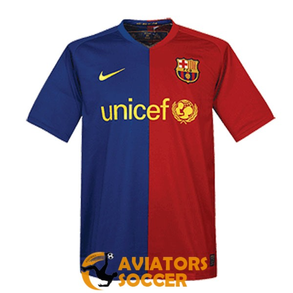 retro barcelona shirt jersey home 2008 2009
