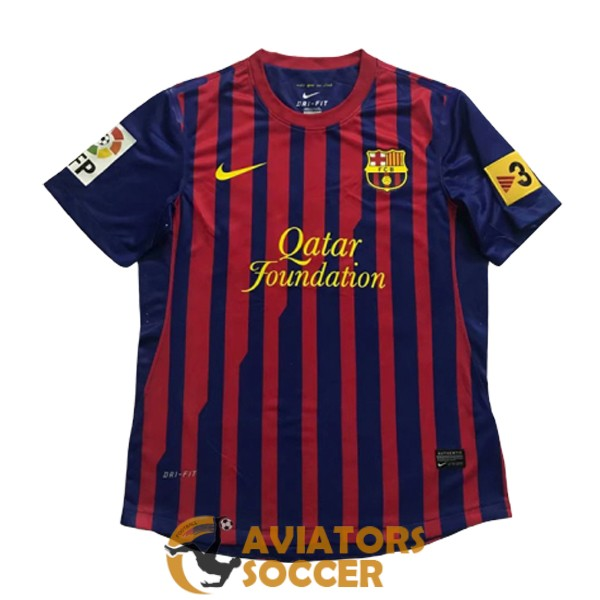 retro barcelona shirt jersey home 2011 2012