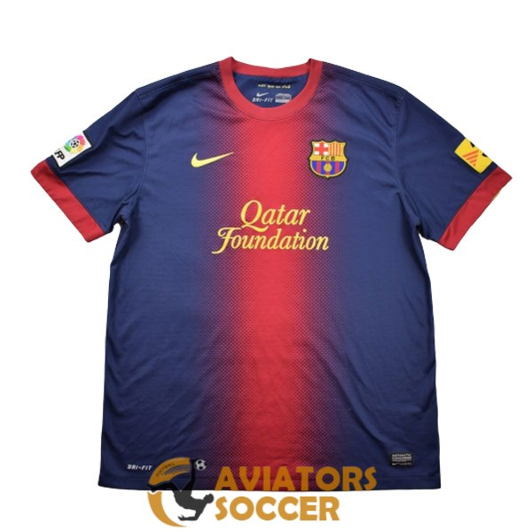 retro barcelona shirt jersey home 2012 2013