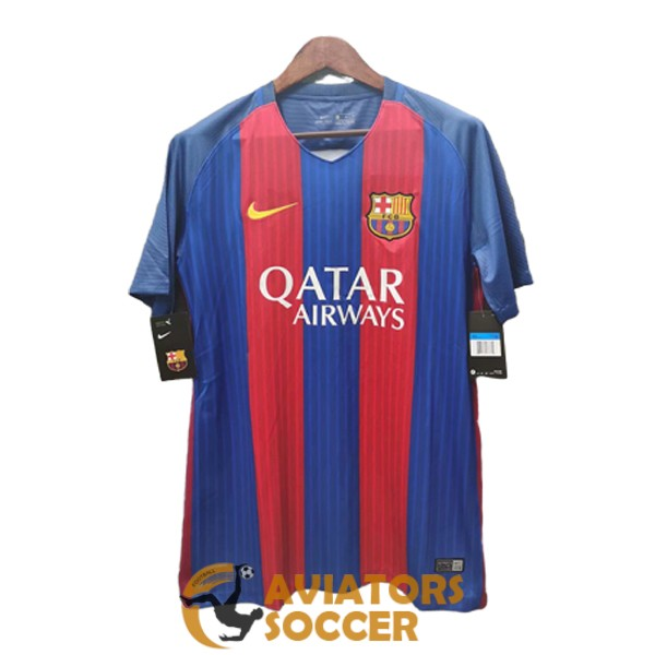retro barcelona shirt jersey home 2016 2017