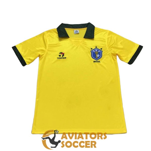 retro brazil shirt jersey home 1986 1989