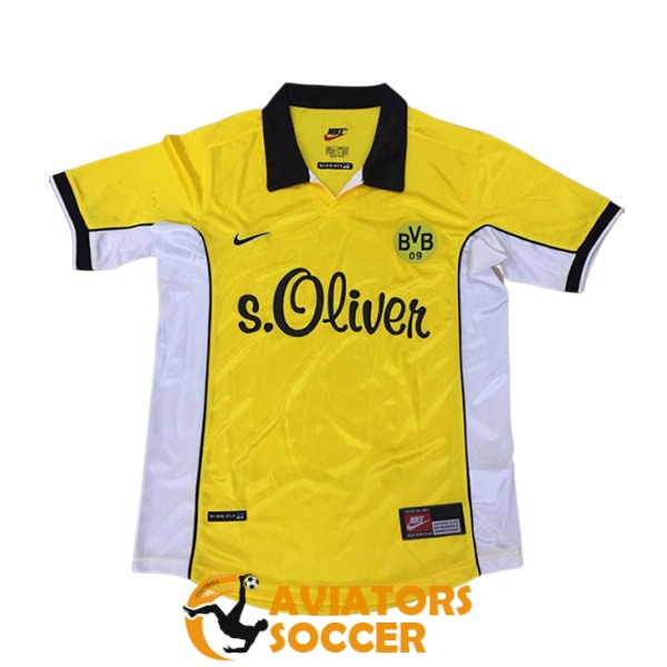 retro dortmund shirt jersey home 1998