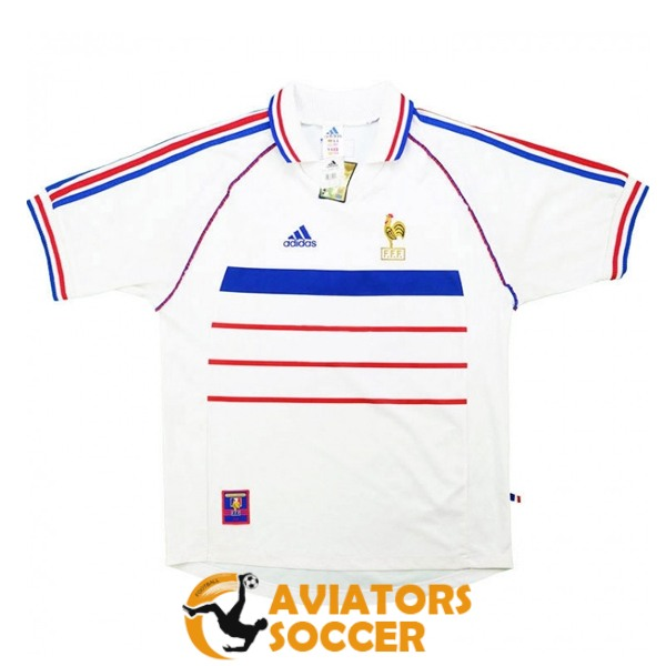 retro france shirt jersey away 1998