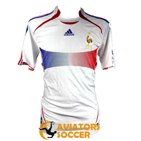 retro france shirt jersey away 2006