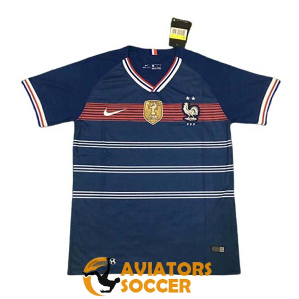 retro france shirt jersey home 1920