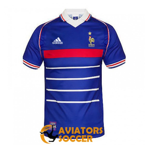 retro france shirt jersey home 1998
