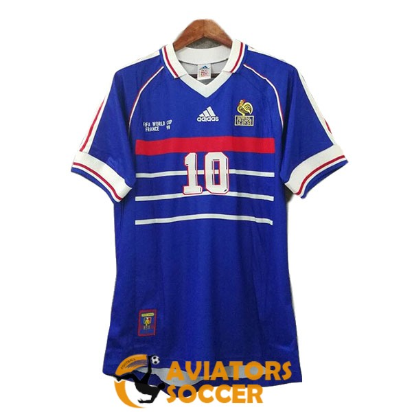 retro france shirt jersey home b 1998
