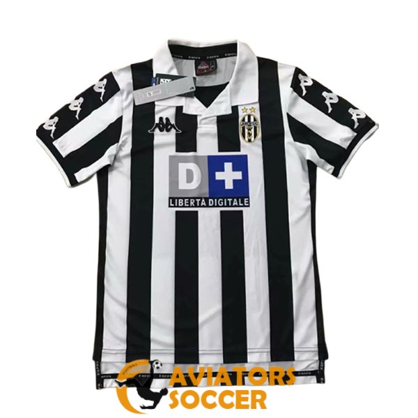 retro juventus shirt jersey home 1999 2000
