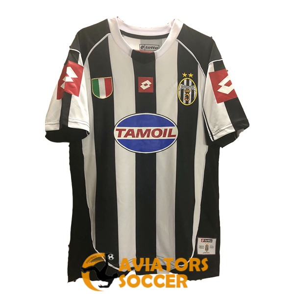 retro juventus shirt jersey home 2002 2003