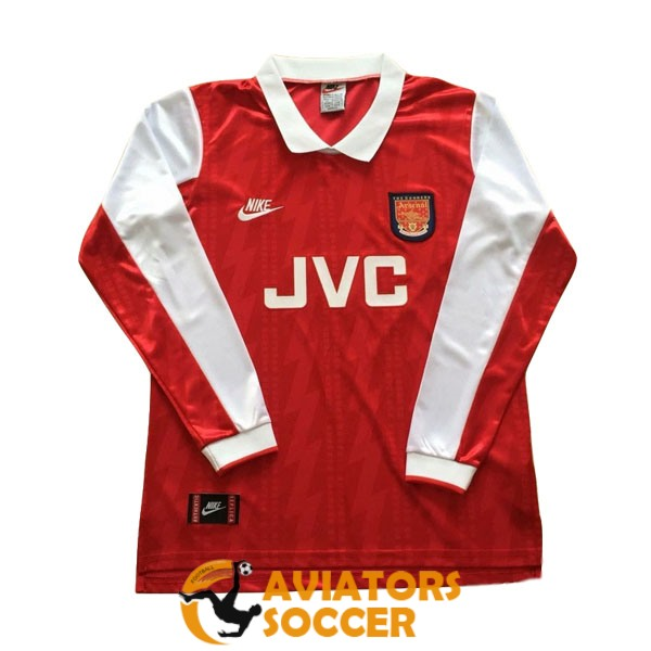 retro long sleeve arsenal shirt jersey home 1994