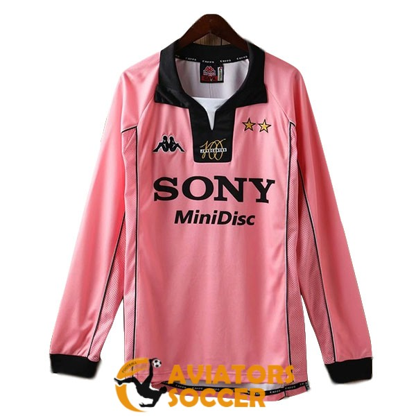 retro long sleeve juventus shirt jersey away 1997 1998