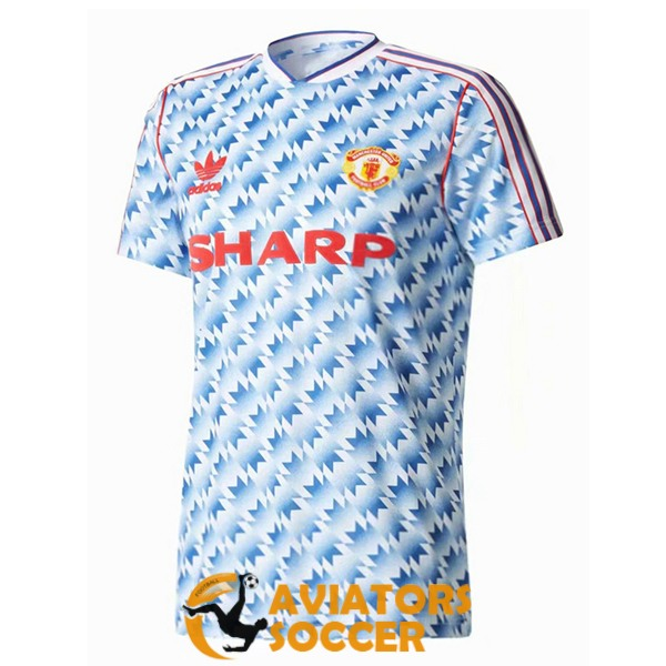 retro manchester united shirt jersey away 1990 1992