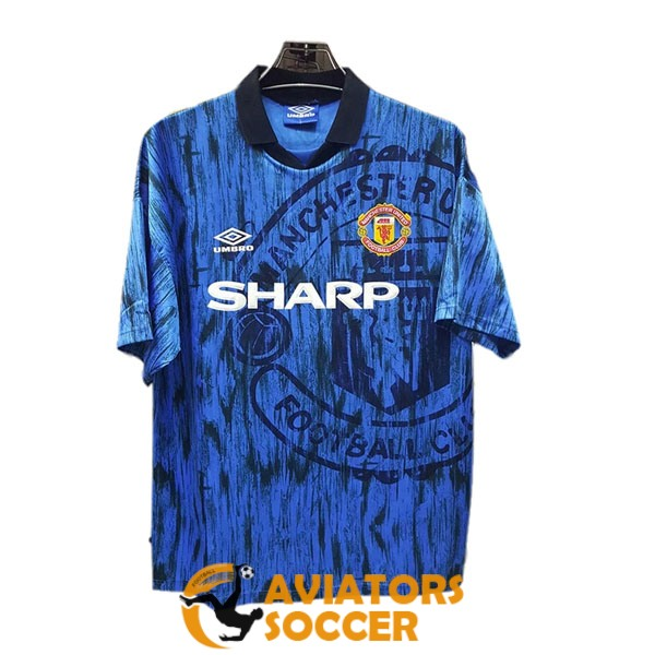 retro manchester united shirt jersey away 1992 1993
