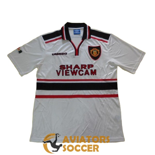 retro manchester united shirt jersey away 1997 1999