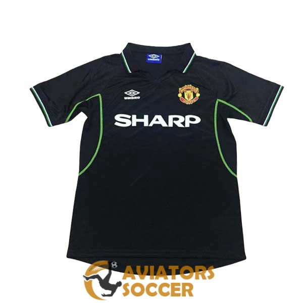 retro manchester united shirt jersey away 1998