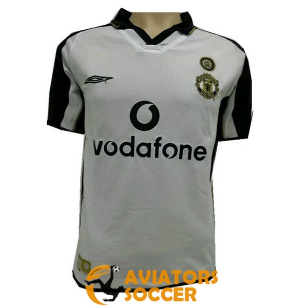 retro manchester united shirt jersey away 2001 2002