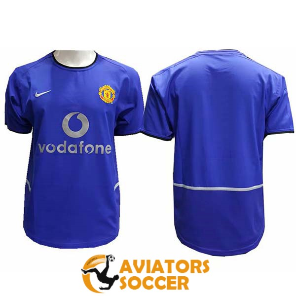 retro manchester united shirt jersey away 2002 2004