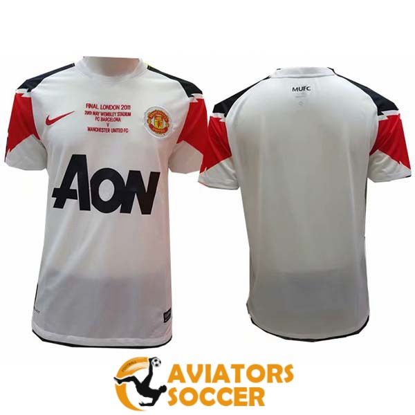 retro manchester united shirt jersey away 2010 2011