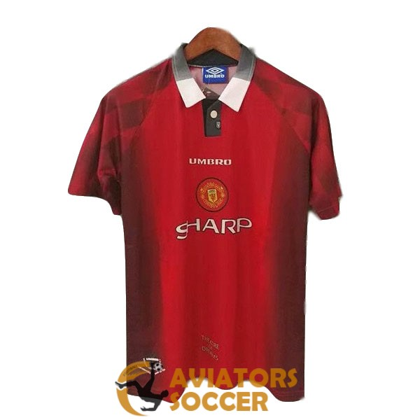 retro manchester united shirt jersey home 1996 1998