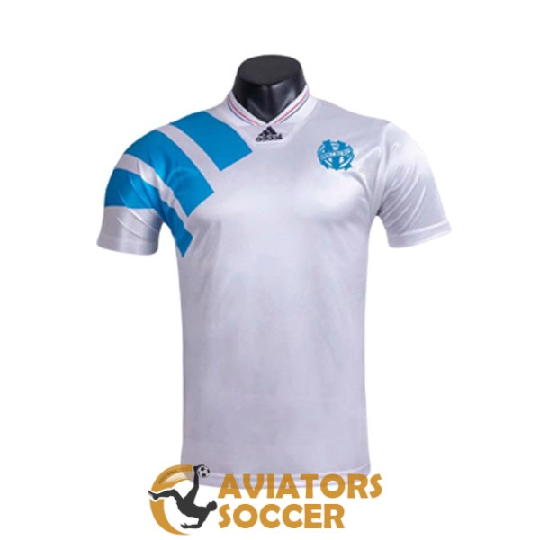 retro marseille shirt jersey home 1992 1993