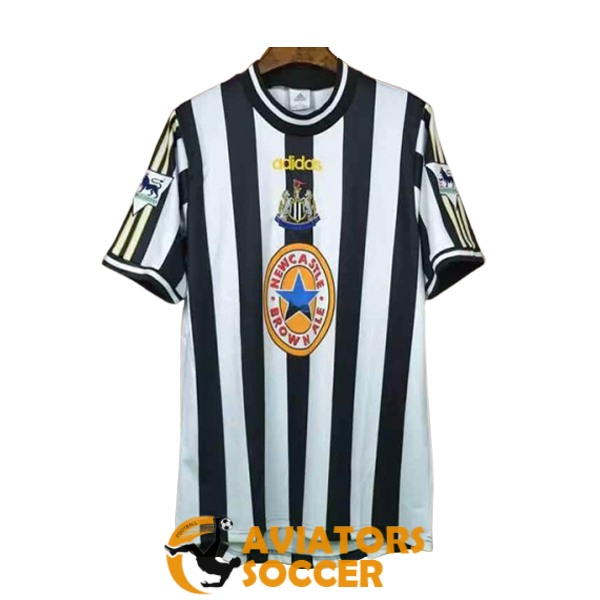 retro newcastle united shirt jersey home 1997 1999