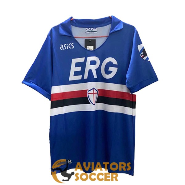 retro sampdoria shirt jersey home 1990 1991