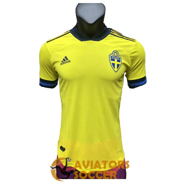 shirt jersey sweden home player version 2020