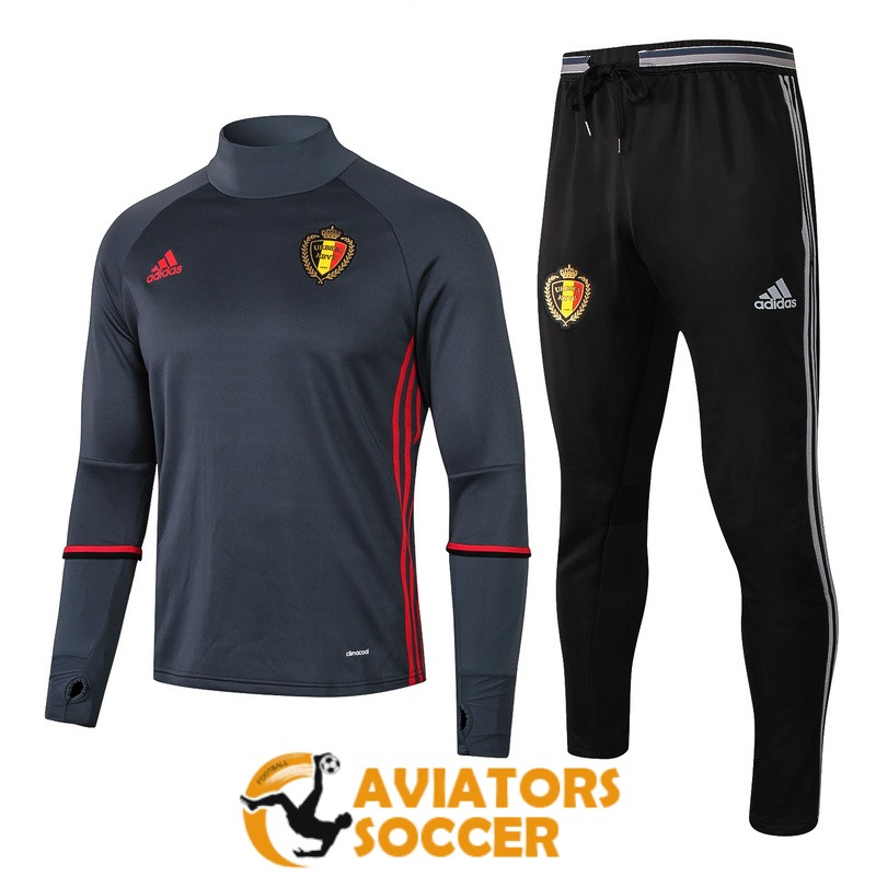 tracksuit belgium 2019 2020 gray high collar