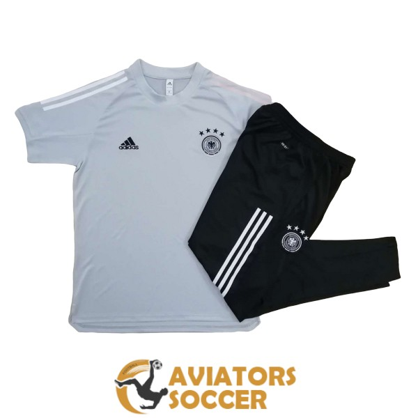 training kit germany shirt jersey light gray 2020 2021